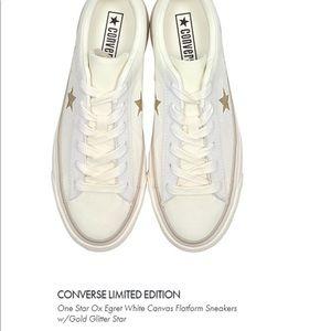 7c61ed92c856 Converse Shoes - Converse Limited Edition White Platform Sneaker